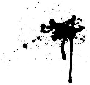 Gambar Disintegrasi Motif Hitam Putih