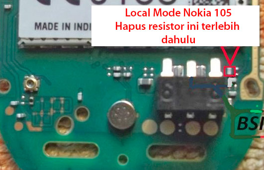 Mengatasi Nokia 105 Local Mode