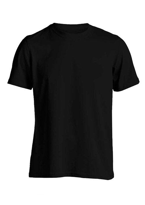 Baju polos hitam